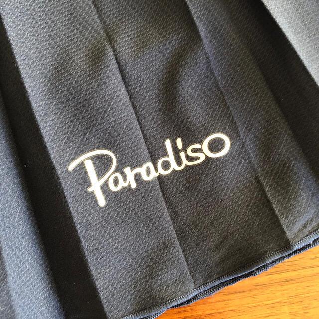 Paradiso(パラディーゾ)のパラディーゾ  スコート プリーツ紺 スポーツ/アウトドアのテニス(ウェア)の商品写真