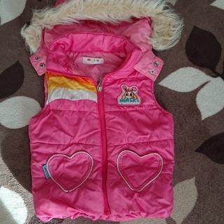ミニケー(MINI-K)の子供服、ベスト(ジャケット/上着)