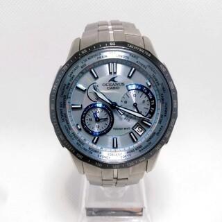カシオ(CASIO)のCASIO OCEANUS Manta OCW-S1400P 500本限定モデル(腕時計(アナログ))