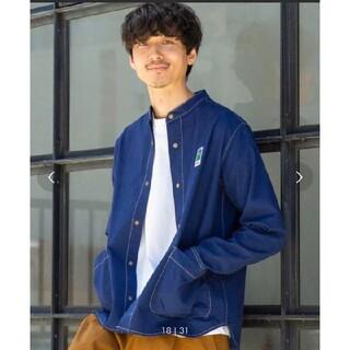 コーエン(coen)のさーし様専用MEI  coen  別注コラボバンドカラーシャツジャケット(その他)