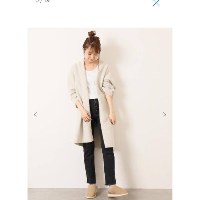 DEUXIEME CLASSE(ドゥーズィエムクラス)のsuicoke ムートンブーツ 24  レディースの靴/シューズ(スリッポン/モカシン)の商品写真