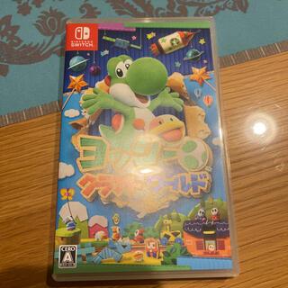 ニンテンドウ(任天堂)のヨッシークラフトワールド Switch(家庭用ゲームソフト)