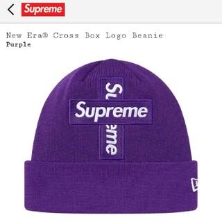 シュプリーム(Supreme)のSupreme New EraCross Box Logo Beanie(ニット帽/ビーニー)