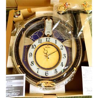 セイコー(SEIKO)の【未使用】SEIKO セイコー 掛け時計 電波クロック 振り子時計 電波時計(掛時計/柱時計)