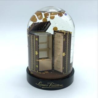 ルイヴィトン(LOUIS VUITTON)のルイヴィトン スノードーム ワードロープトランク オブジェ 非売品 ノベルティ(彫刻/オブジェ)
