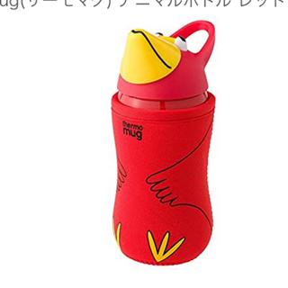 サーモマグ(thermo mug)のサーモアニマルボトル レッド(水筒)