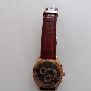 シチズン(CITIZEN)のARMURE  シチズン クロノグラフ 電池交換済み(腕時計(アナログ))