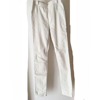 ソルベリー レディース 白ズボン サイズM(カジュアルパンツ)