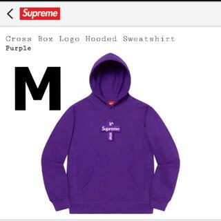 シュプリーム(Supreme)のSupreme Cross Box Logo Hooded Sweatshirt(パーカー)