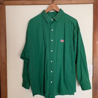 ロデオクラウンズ(RODEO CROWNS)のシャツ ビッグシルエット ロデオクラウンズ ゆったりめ 美品(シャツ/ブラウス(長袖/七分))
