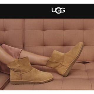 アグ(UGG)の新品 UGG クラッシック アンラインド ミニ 5 チェスナット アグ(ブーツ)