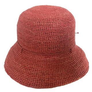 ヘレンカミンスキー(HELEN KAMINSKI)のヘレンカミンスキー 帽子 - オレンジ(その他)
