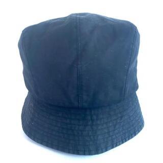 バーバリーブルーレーベル(BURBERRY BLUE LABEL)のバーバリーブルーレーベル 帽子 - 黒(その他)