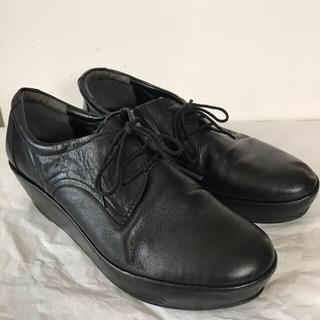 サヴァサヴァ(cavacava)のサヴァサヴァ cavacava フラットソール 黒靴(ローファー/革靴)