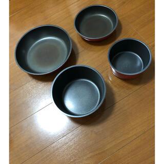 ニトリ(ニトリ)の取っ手がトレルIH専用鍋&フライパンセット(鍋/フライパン)