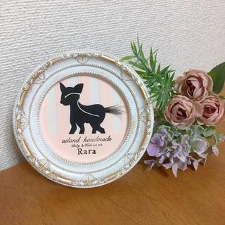 【ベビー&キッズカットアート】子鹿シルエット(胎毛筆)