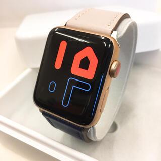 アップルウォッチ(Apple Watch)のApple Watch series3 Gold アップルウォッチ 42mm(その他)