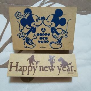 ディズニー(Disney)のディズニー 年賀状 スタンプ はんこ(印鑑/スタンプ/朱肉)