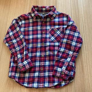 ユニクロ(UNIQLO)のユニクロ ネルシャツ 120(Tシャツ/カットソー)
