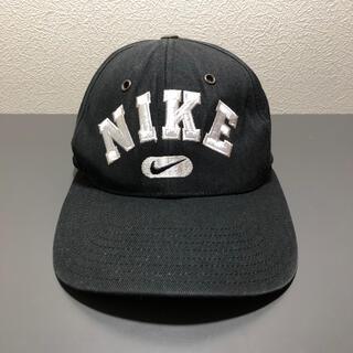 ナイキ(NIKE)の'90s 銀タグ NIKE cap black×white(キャップ)