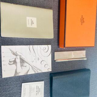 Hermes - HERMES 手帳アジェンダGM ブラック ペン付き