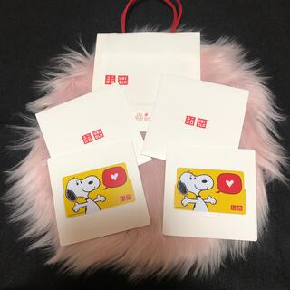 ユニクロ(UNIQLO)のユニクロ ギフトカード ¥5000×2枚(ショッピング)