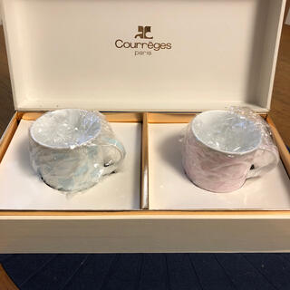 Courreges   ペアカップ&ソーサー