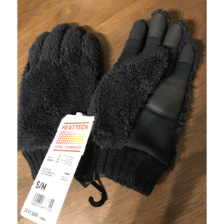 ユニクロ(UNIQLO)のUNIQLO ボア手袋 キッズ(手袋)