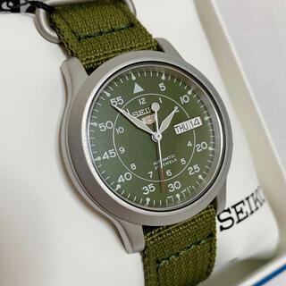 セイコー(SEIKO)の新品未使用 SEIKO5セイコー5 腕時計 SNK809K2 カーキ 自動巻き(腕時計(アナログ))