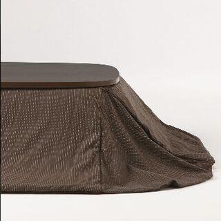 ムジルシリョウヒン(MUJI (無印良品))のこたつ布団 正方形 無印良品 リバーシブル(こたつ)