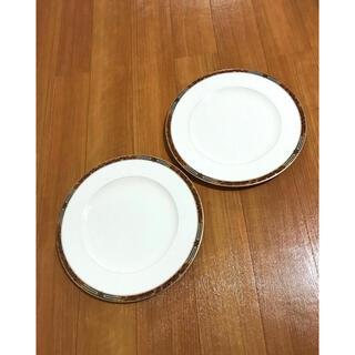 ミカサ(MIKASA)の美品!ミカサ MIKASA ボーンチャイナ ペアプレートセット(食器)