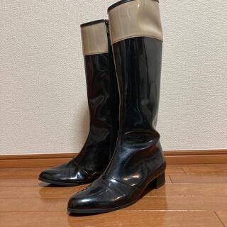 ギンザカネマツ(GINZA Kanematsu)の銀座かねまつ🎀バイカラー レインブーツ🎀25cm(レインブーツ/長靴)