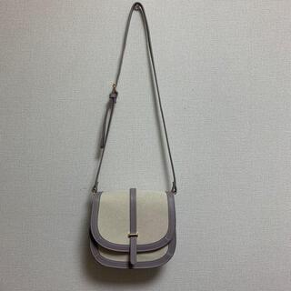 シマムラ(しまむら)のショルダーバック 紫(ショルダーバッグ)