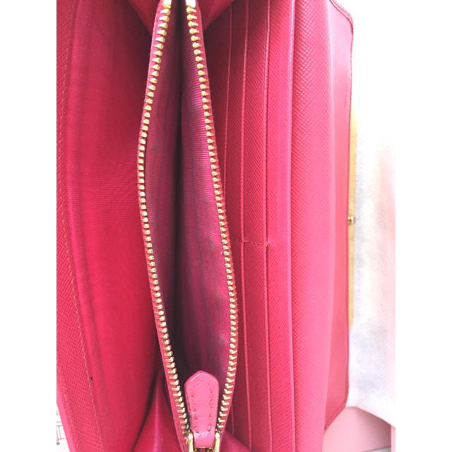 PRADA(プラダ)のPRADA ビジュー 長財布 ピンク レディースのファッション小物(財布)の商品写真