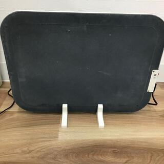 グリーンウッド 2WAY暖房機 パネルヒーター&足温器(電気ヒーター)