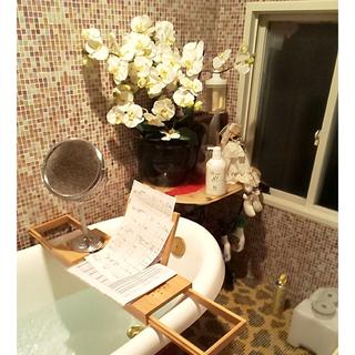 バスタブトレー テーブル 浴室 ラック バスタブラック お風呂用(バス収納)