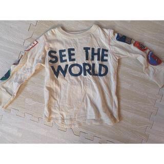 ゴートゥーハリウッド(GO TO HOLLYWOOD)のGOTO HOLLY WOOD♡ワッペン ロンT(Tシャツ/カットソー)