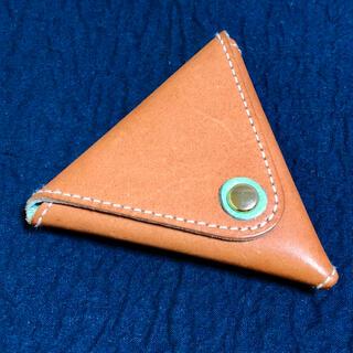 ヘルツ(HERZ)の牛革三角コインケース(コインケース/小銭入れ)