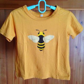 ムジルシリョウヒン(MUJI (無印良品))の110cm 蜂さんTシャツ(Tシャツ/カットソー)