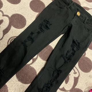 ムルーア(MURUA)の■たろ様専用■MURUA ダメージ ブラックパンツ(スキニーパンツ)