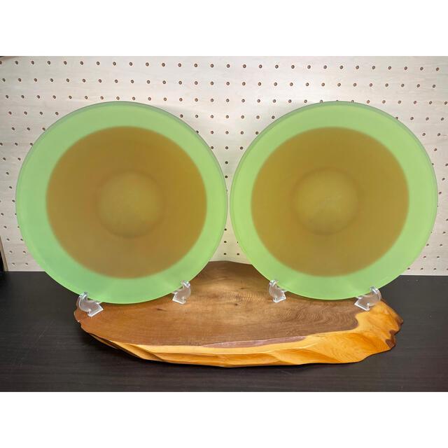 東洋佐々木ガラス(トウヨウササキガラス)の佐々木ガラス 大皿 2枚 インテリア/住まい/日用品のキッチン/食器(食器)の商品写真