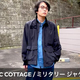 エレクトリックコテージ(ELECTRIC COTTAGE)のelectric cottage ミリタリー ジャケット(ミリタリージャケット)