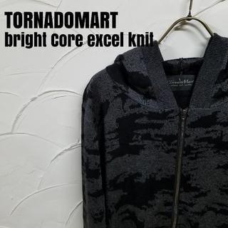 トルネードマート(TORNADO MART)のTORNADOMART/トルネードマート ブライトコア エステル ニットパーカー(パーカー)