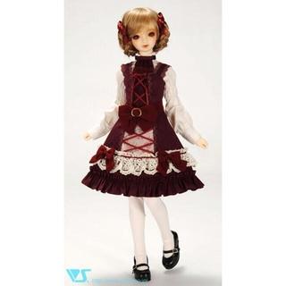 ボークス(VOLKS)の【美品】SDサイズ レッドローテローゼ ドレスセット一式(人形)