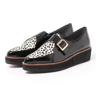 エスペランサ(ESPERANZA)のESPERANSA アニマルパターンバックローファー(ローファー/革靴)