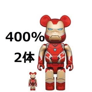 メディコムトイ(MEDICOM TOY)のBE@RBRICK IRON MAN MARK 85 100% 400% 2体(その他)