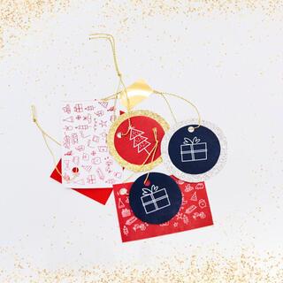 プチバトー(PETIT BATEAU)のプチバトー ノベルティ プチDIY : ギフトタグ & クリスマスカード キット(その他)