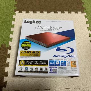 [いーちゃんさん専用]LOGITEC LBD-PUD6U3LRD Blu-ray(ブルーレイプレイヤー)