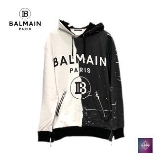 バルマン(BALMAIN)の【中古】BALMAIN バルマン パーカー フード ジャケット トップス(パーカー)