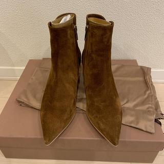 ドゥーズィエムクラス(DEUXIEME CLASSE)の 【GIANVITO ROSSI/ジャンヴィト ロッシ】SHORT BOOTS(ブーツ)